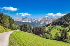Disturbing mountain forests reduces their protective effect against natural hazards