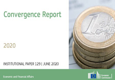 Cover of the convergence report © European Union, 2020
