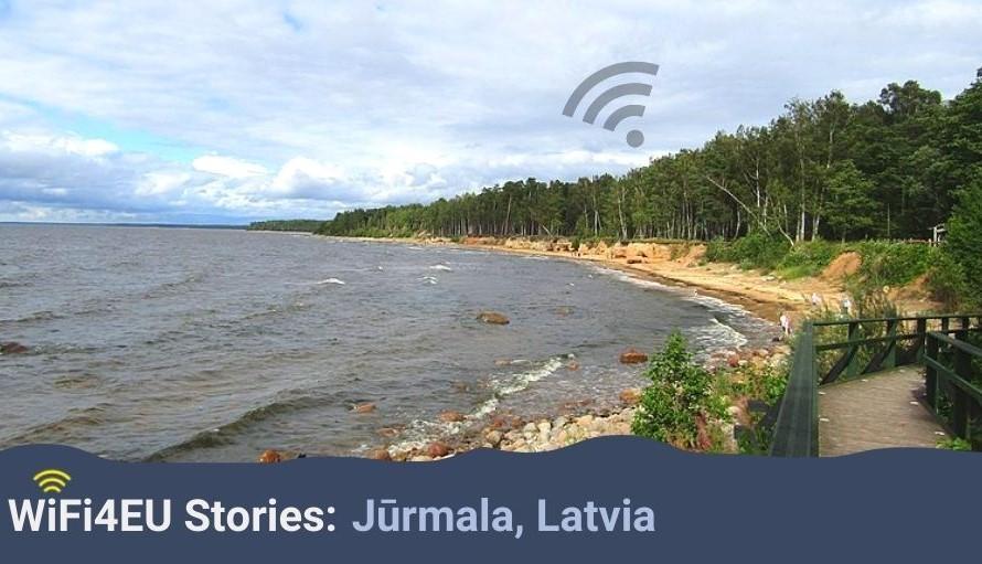 WiFi4EU stories: an interview with Jūrmala, Latvia