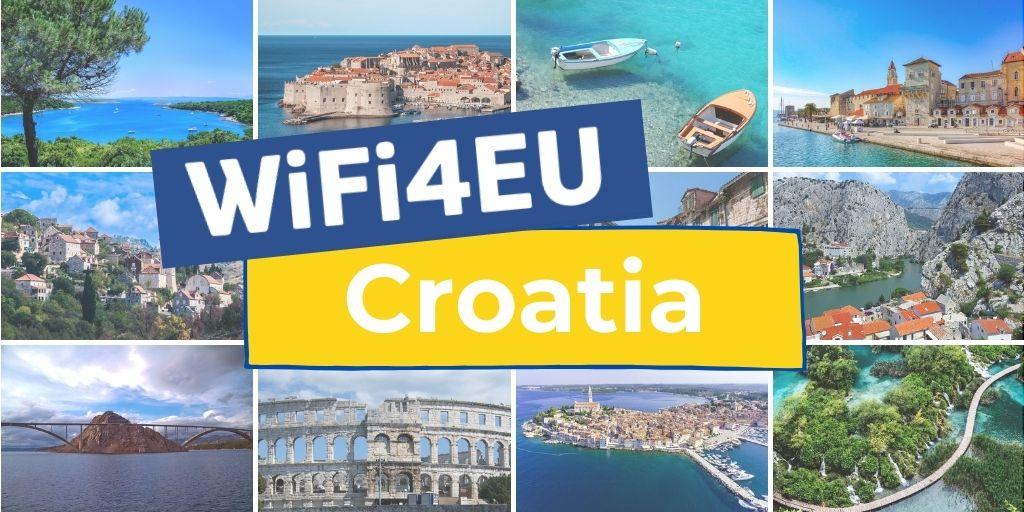 WiFi4EU countries: Croatia