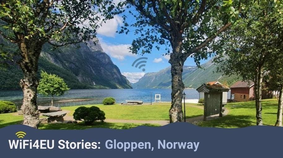 WiFi4EU stories: Gloppen, Norway