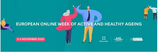 Logo European Online Week of Active and Healthy Ageing