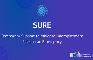 SURE logo © European Union, 2020