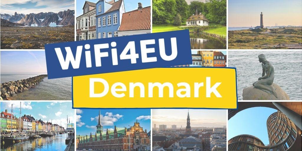 Landscapes of Denmark, Wifi4EU logo