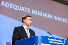 Read-out of the weekly meeting by Valdis Dombrovskis © European Union, 2020