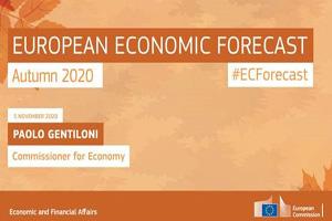 Banner of European Economic Forecast © European Union, 2020