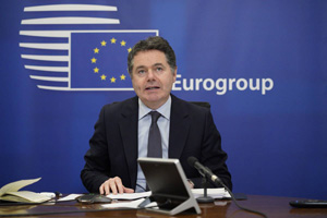 Video conference of Mr Paschal DONOHOE, President of the Eurogroup © European Union, 2020