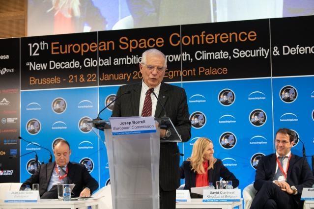 Josep Borrell Fontelles at the 12th European Space Conference © European Union, 2020