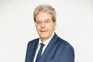 Paolo GENTILONI, European Commissioner for Economy at the Eurogroup © European Union, 2020