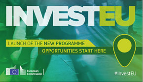 Visual illustrating the InvestEU programme