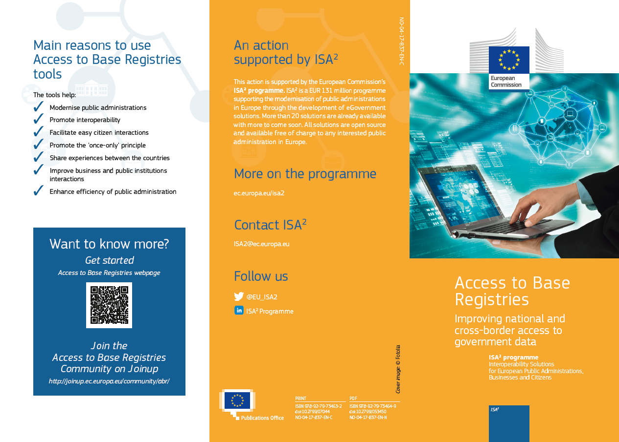 Access to Base Registries leaflet