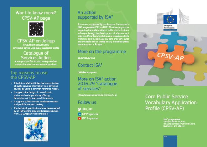 CPSV-AP leaflet