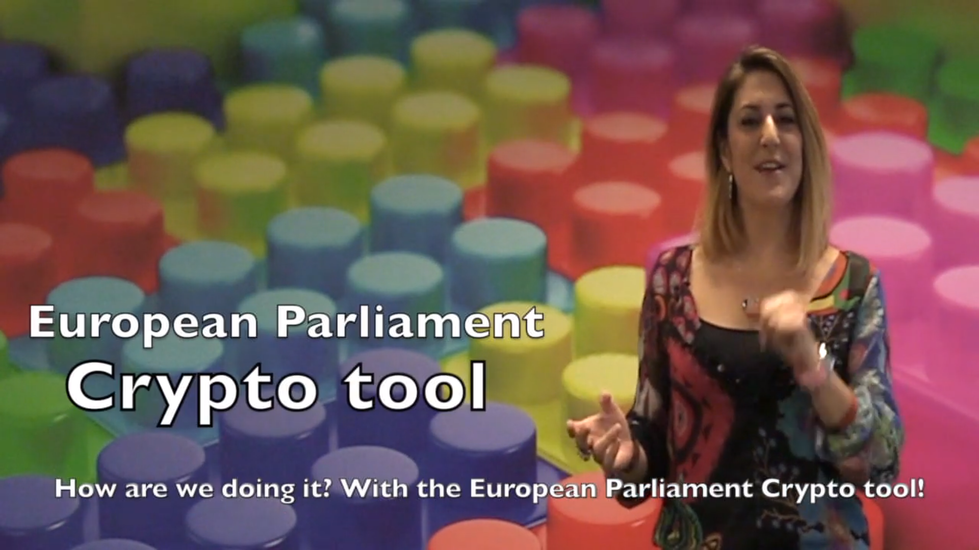 Crypto Tool by the European Parliament for securing exchange of data during the EP elections