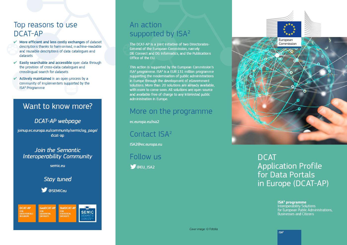 DCAT-AP leaflet