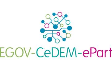 EGOV-CeDEM-ePart 2019