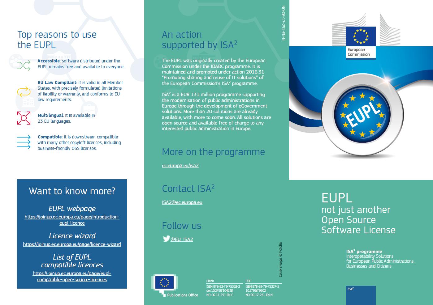 EUPL leaflet