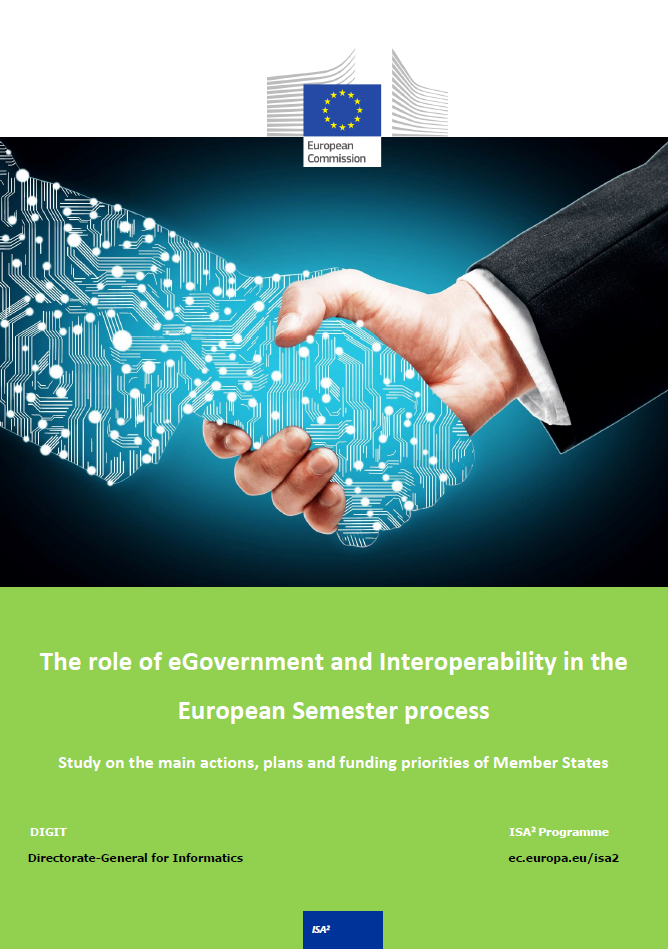The role of eGovernment and Interoperability in the European Semester process