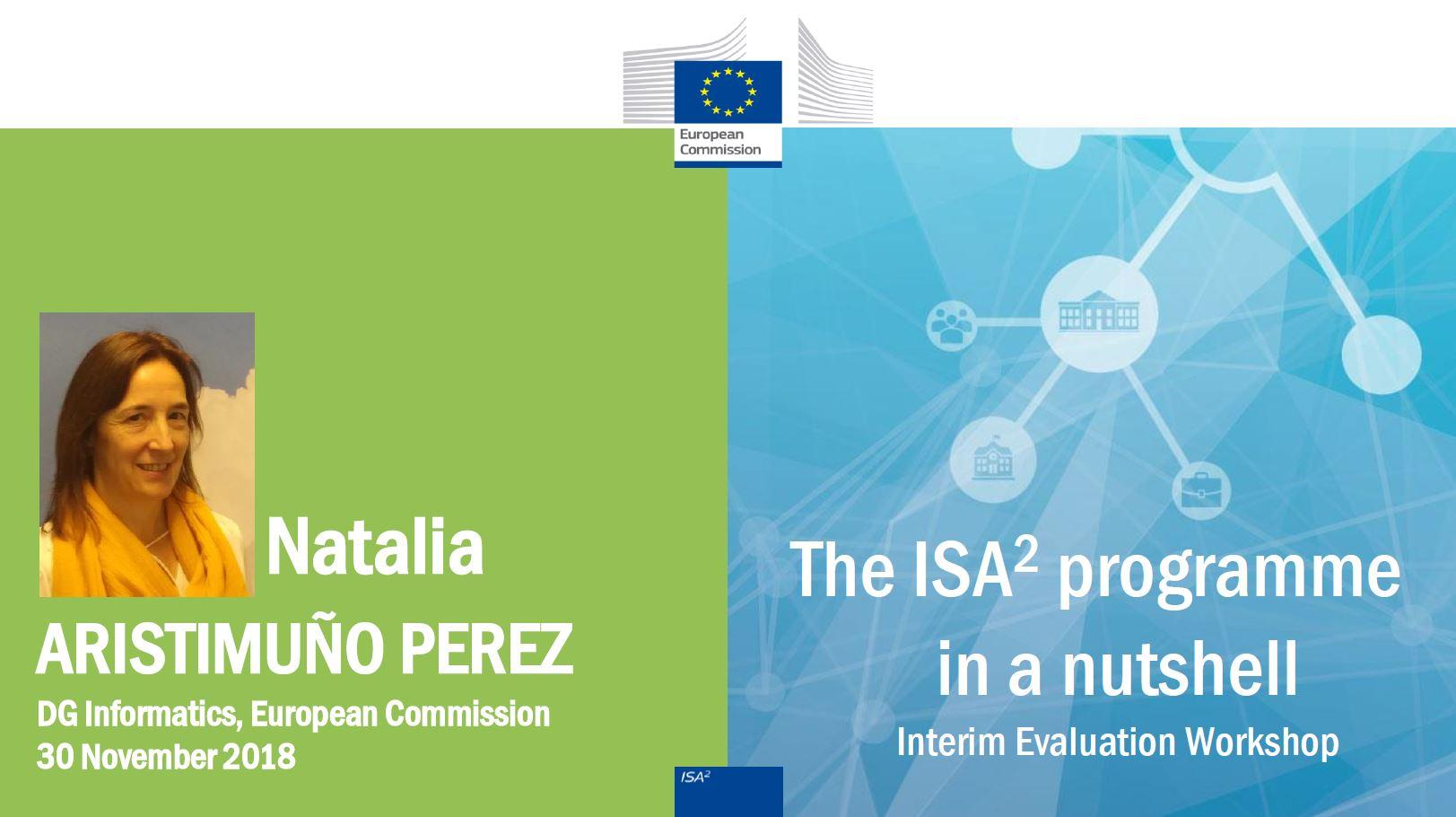 ISA² Interim Evaluation Workshop
