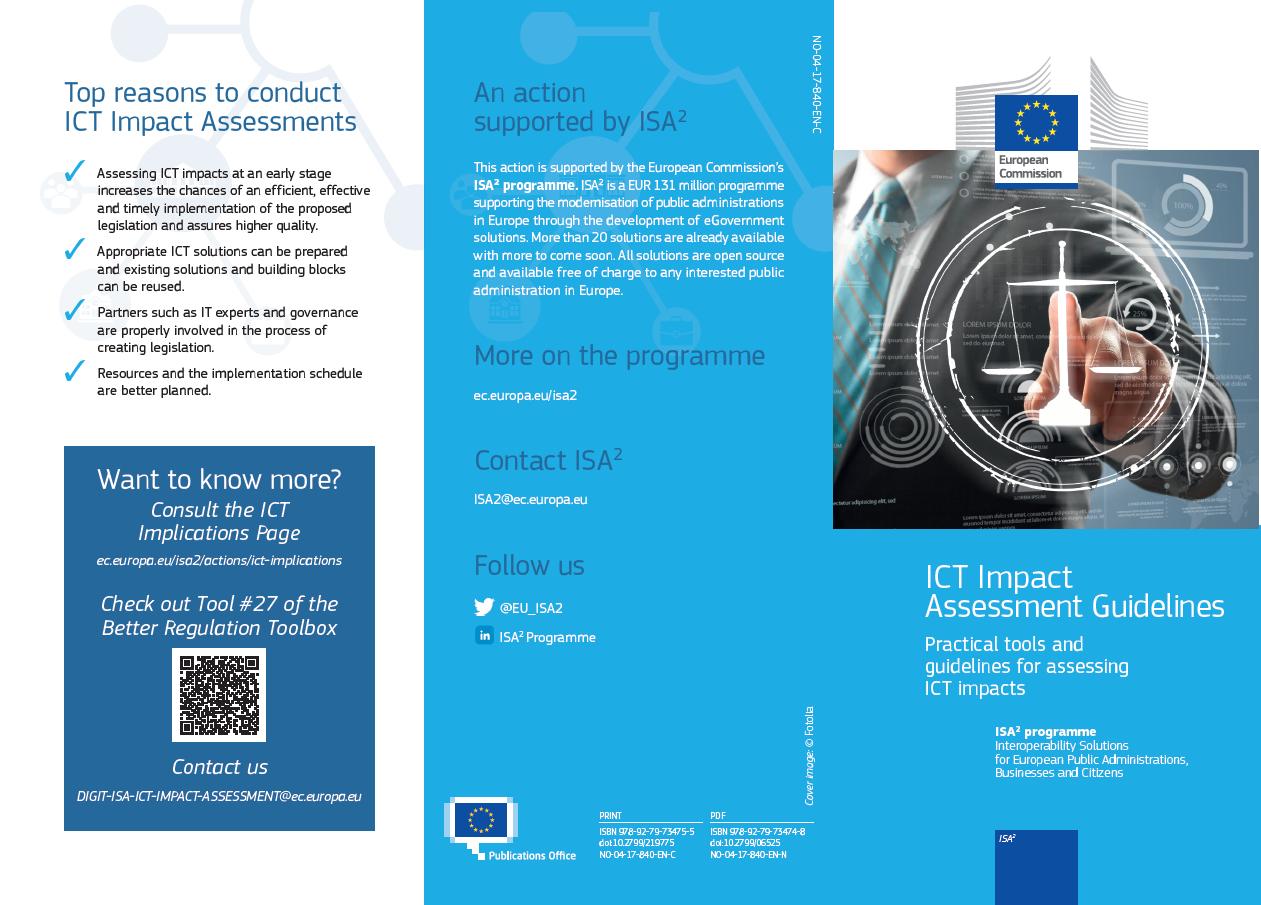 ICT Impact Assessment leaflet