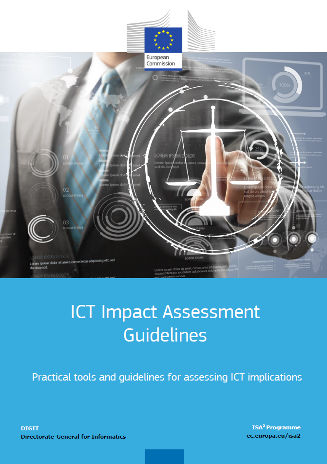 ICT Impact Assessment Guidelines cover