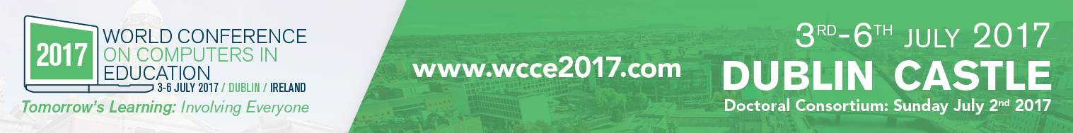 WCCE banner