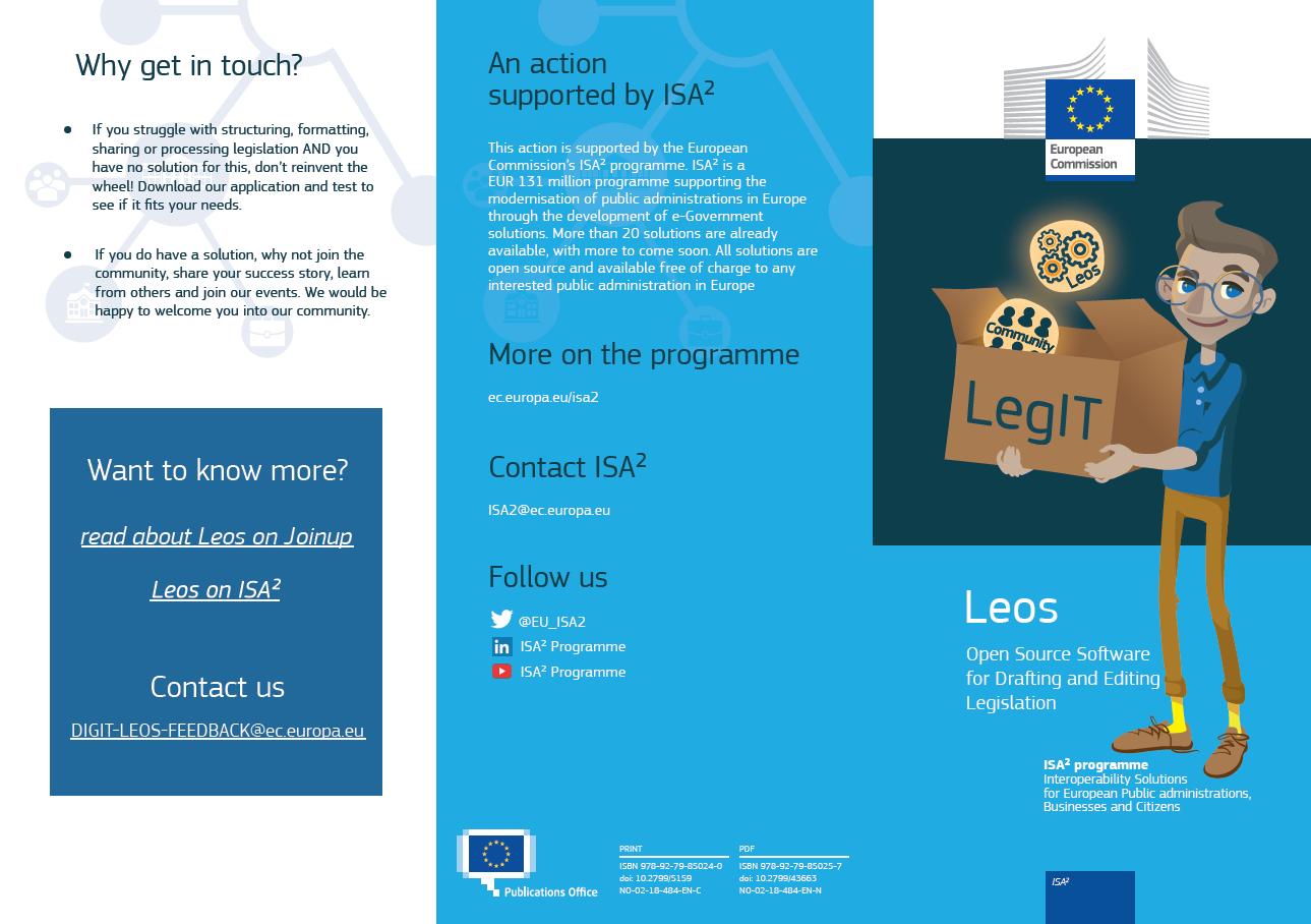 LEOS leaflet