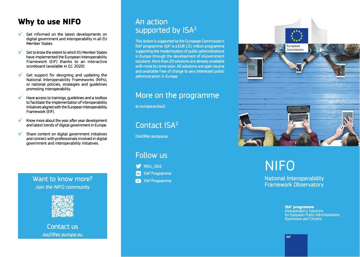 NIFO leaflet