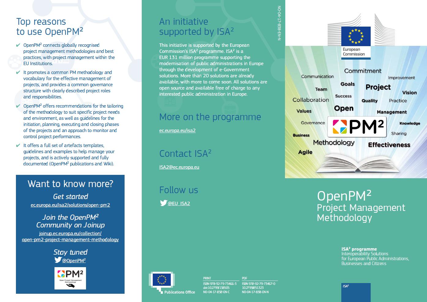 Open PM2 leaflet