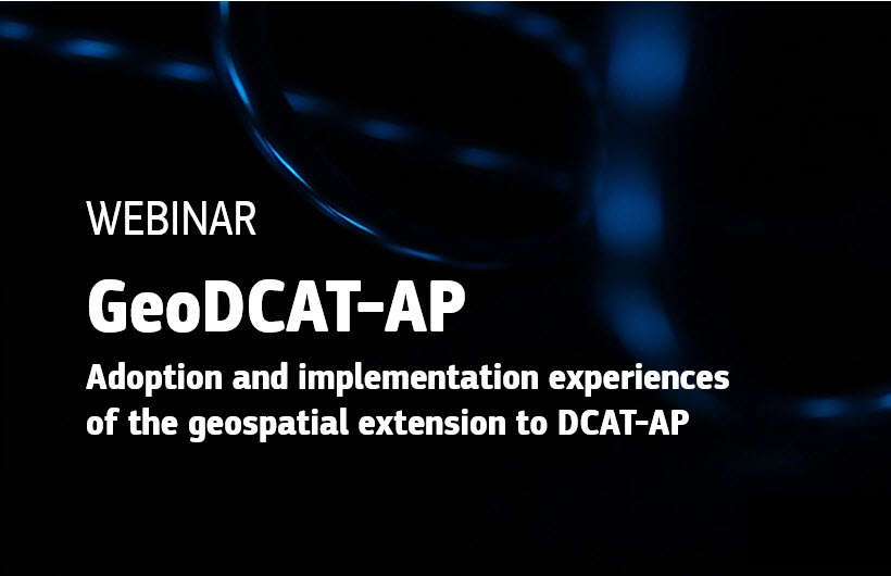 GeoDCAT-AP webinar