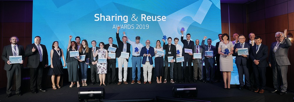 Winners of Sharing & Reuse Awards 2019