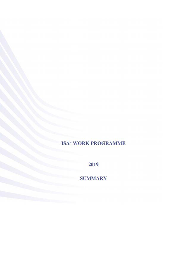 ISA² 2019 Work Programme - summary