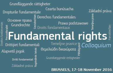 2016 Annual Colloquium on Fundamental Rights