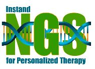 Logo of the project for Instand Next Generation Sequencing for Personalised cancer therapy