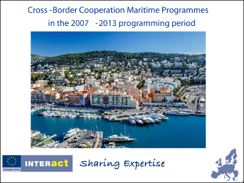 INTERACT Study on on Cross-Border Cooperation in Maritime Programmes