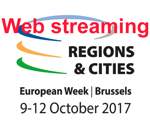 Web streaming : European week of regions and cities workshops
