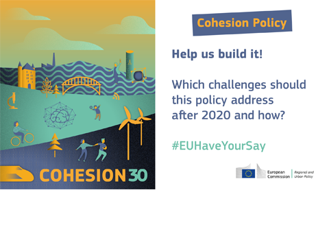 illustration for the public consultation on EU Cohesion Policy