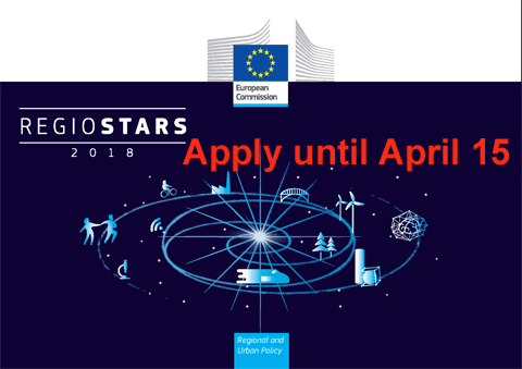 RegioStars Awards 2018: Time to submit your best projects