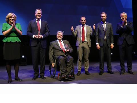 Winners of the Regiostars Awards 2016