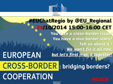 2nd EUChatREGIO - European Cross-border cooperation: Collecting information on remaining obstacles at EU internal borders