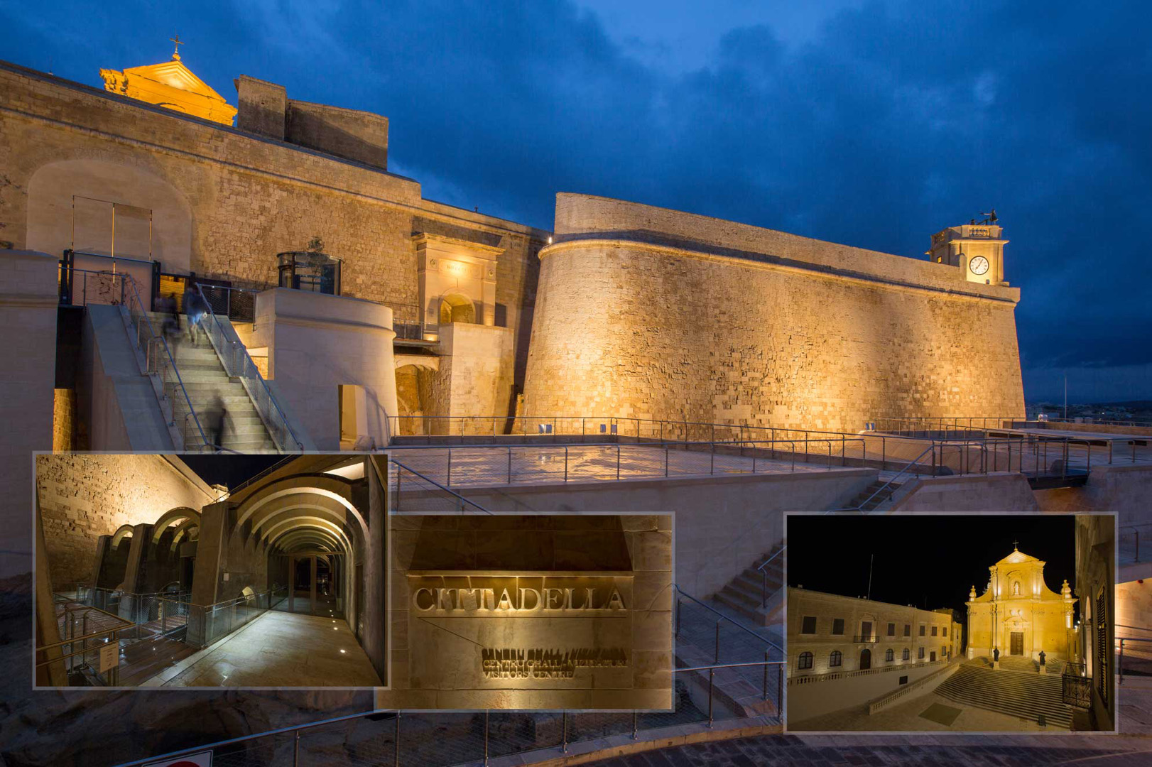 Rehabilitation and restoration of Cittadella Gozo