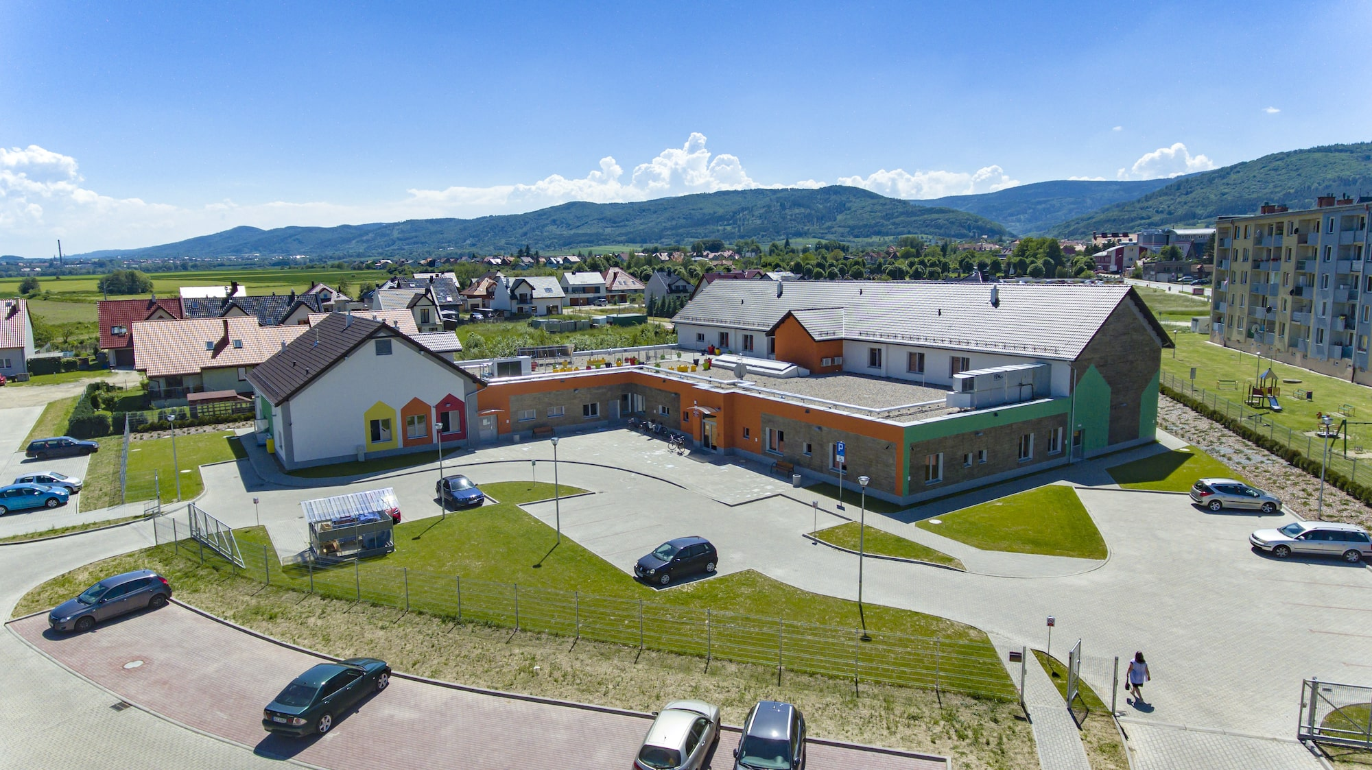 The new kindergarten and nursery in Pieszyce, in south-eastern Poland. ©Urząd Marszałkowski Województwa Dolnośląskiego