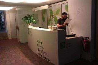 Mingo reception area ©Mingo reception area