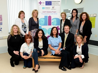 European Commission visit to the CAWT diabetes project in Ireland/Northern Ireland. ©CAWT
