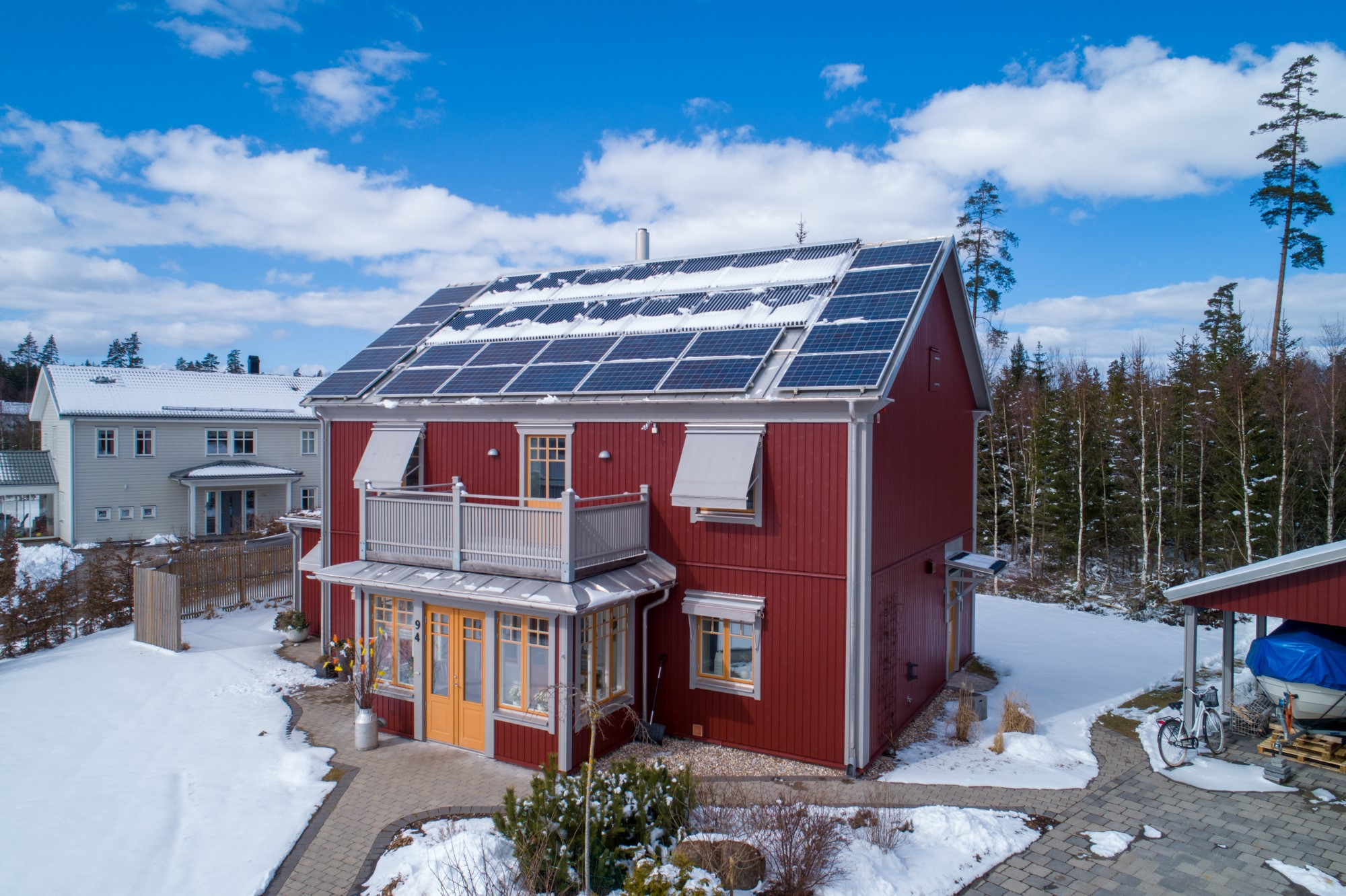 Green PE's household pilot project in Sweden. ©Natek Power Systems AB (2019)