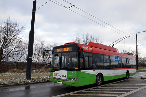 One of the new Lublin trolleybuses purchased under an EU-funded project. ©Katarzyna Latkowska