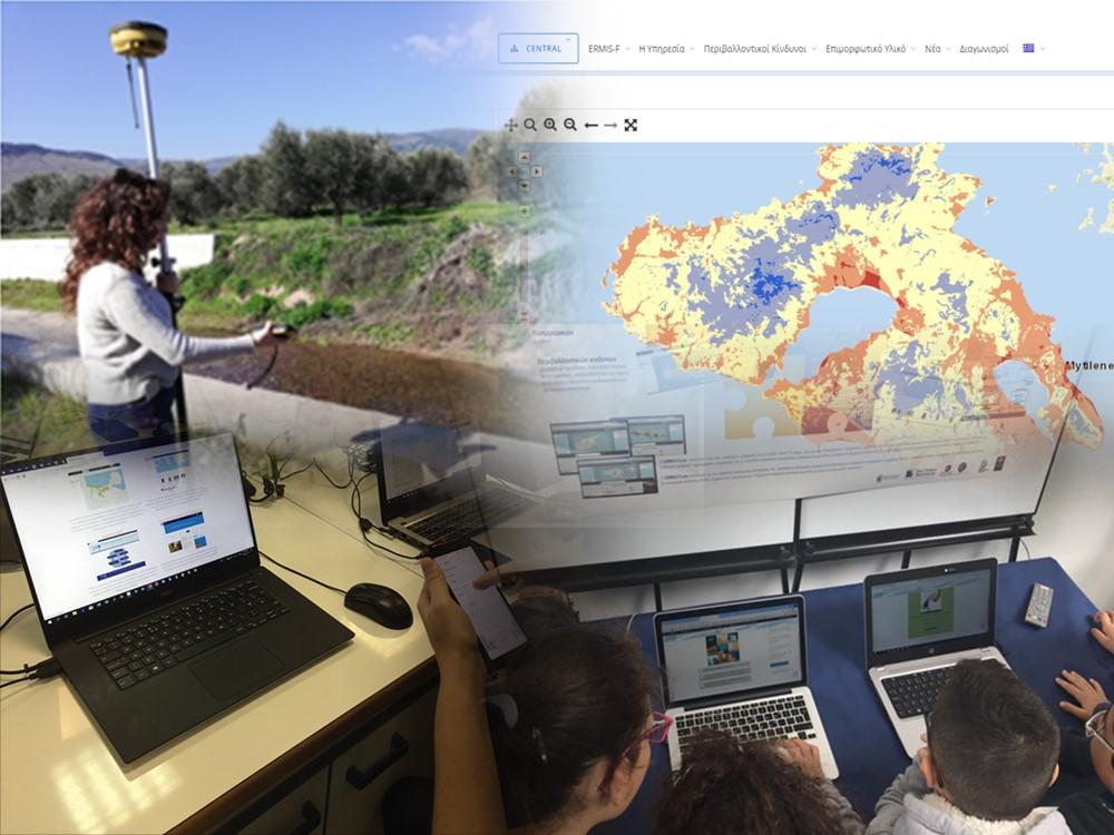 ERMIS-F: field work and snapshots. ©The Cyprus Institute/Krystallia Drystella (2020)