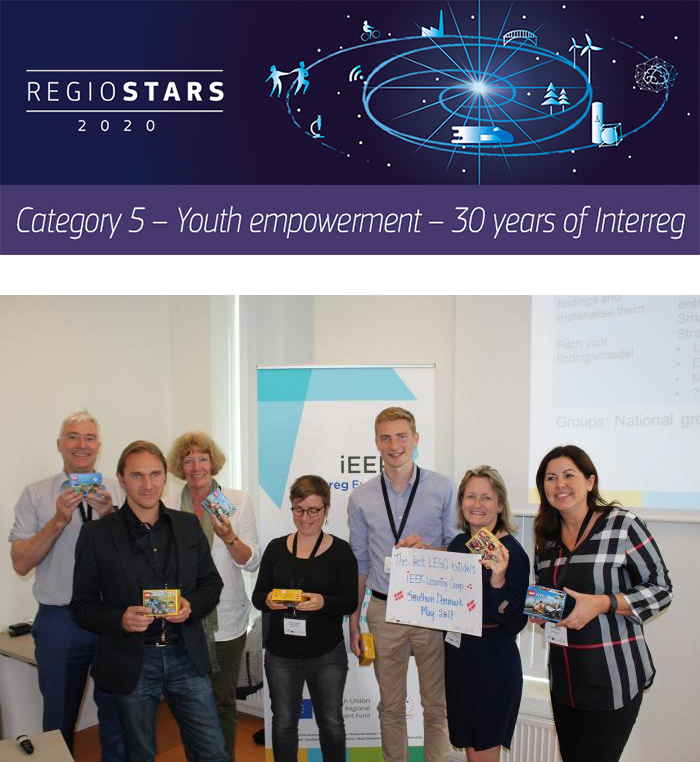 Participants at an IEER learning camp held in southern Denmark in May 2017. ©Boosting Innovative Entrepreneurial Ecosystem in Regions for Young Entrepreneurs