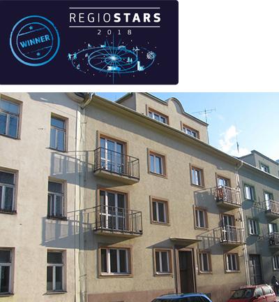 Social housing in the city of Ostrava ©Statutory City of Ostrava