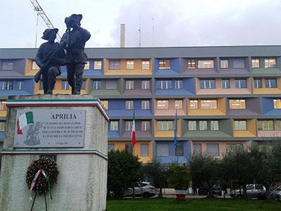 Refurbished municipal office building ©Comune di Aprilia