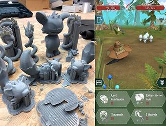 Screenshot of mobile game  ©Slavic Monsters